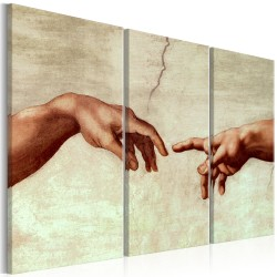Canvas Print  Touch of God