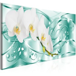 Canvas Print  Flowering (1 Part) Narrow Green