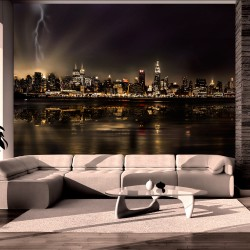 Wallpaper  Storm in New York City