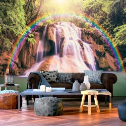 Wallpaper  Magical Waterfall