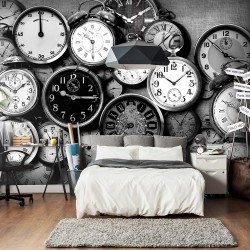 Wallpaper  Retro Clocks