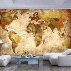 Wallpaper  Old World Map