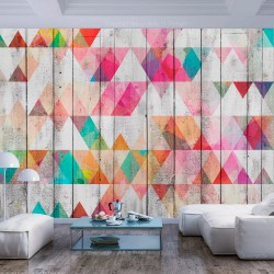 Wallpaper  Rainbow Triangles