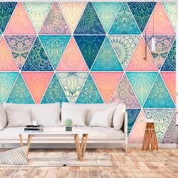 Wallpaper  Oriental Triangles
