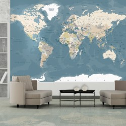 Wallpaper  Vintage World Map