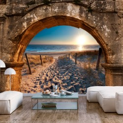 Wallpaper  Arch and Beach
