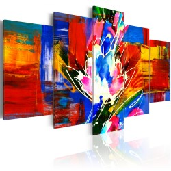Canvas Print  Power of Colours