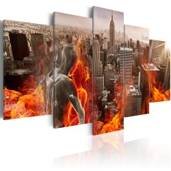 Canvas Print  City of Love