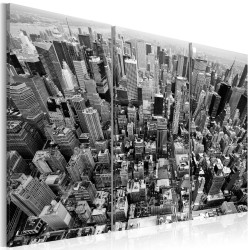 Canvas Print  A marvellous view on New York roofs
