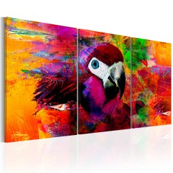 Canvas Print  Jungle of Colours