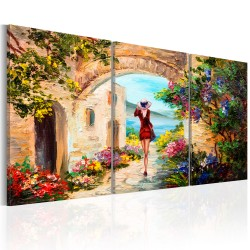 Canvas Print  Summer in Italy