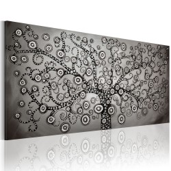 Canvas Print  Silver Tree