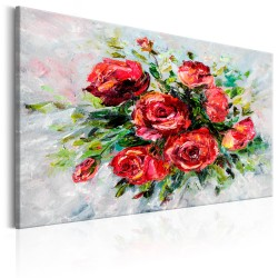 Canvas Print  Flowers of Love