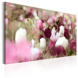 Canvas Print  Meadow of Tulips