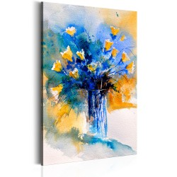 Canvas Print  Flowery Artistry