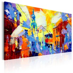 Canvas Print  Colours of the City