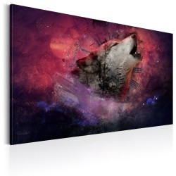 Canvas Print  Time of Wolves