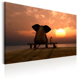 Canvas Print  Evening Rest