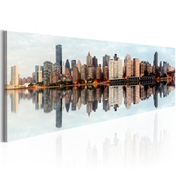 Canvas Print  Morning  Manhattan