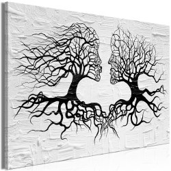 Canvas Print  The Kiss of the Wind (1 Part) Wide