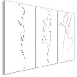 Canvas Print  Silhouettes (Collection)