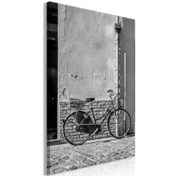Canvas Print  Old Italian Bicycle (1 Part) Vertical