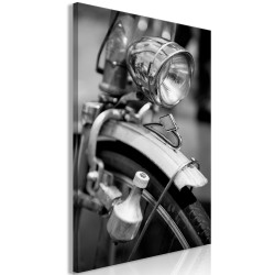 Canvas Print  Bicycle Details (1 Part) Vertical
