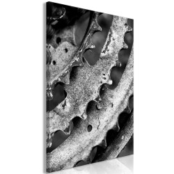 Canvas Print  Gears (1 Part) Vertical