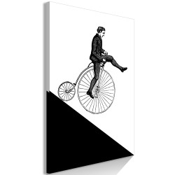 Canvas Print  Cyclist (1 Part) Vertical