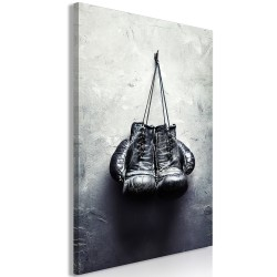 Canvas Print  Boxing Gloves (1 Part) Vertical