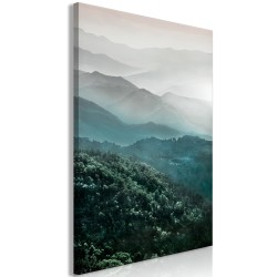 Canvas Print  Beautiful Tuscany (1 Part) Vertical
