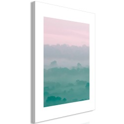 Canvas Print  Foggy Dawn (1 Part) Vertical