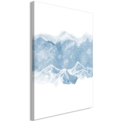 Canvas Print  Ice Land (1 Part) Vertical