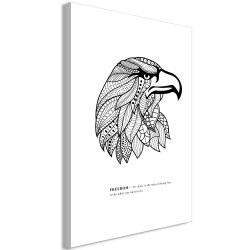 Canvas Print  Eagle of Freedom (1 Part) Vertical