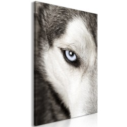 Canvas Print  Dogs Look (1 Part) Vertical