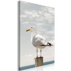 Canvas Print  Seagull (1 Part) Vertical