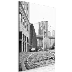 Canvas Print  Brooklyn Bridge (1 Part) Vertical