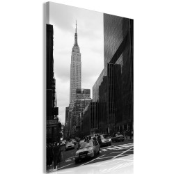 Canvas Print  Street in New York (1 Part) Vertical