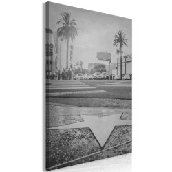 Canvas Print  Avenue of the Stars (1 Part) Vertical