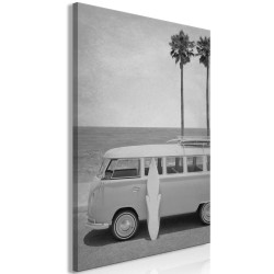Canvas Print  Holiday Travel (1 Part) Vertical