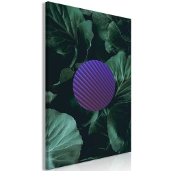 Canvas Print  Botanical Abstraction (1 Part) Vertical