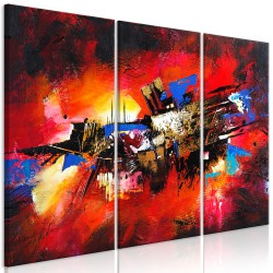 Canvas Print  Colours of Childhood (3 Parts)