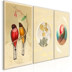 Canvas Print  Forms in Nature (3 Parts)