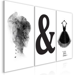 Canvas Print  Womens Style (3 Parts)
