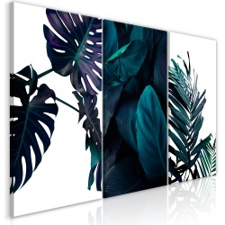 Canvas Print  Cold Leaves (3 Parts)