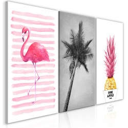 Canvas Print  Tropical Heat (3 Parts)