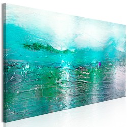 Canvas Print  Turquoise Landscape (1 Part) Narrow