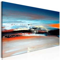 Canvas Print  Landscape at Dawn (1 Part) Narrow