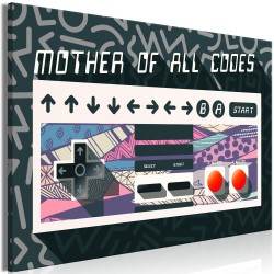 Canvas Print  Mother of All Codes (1 Part) Wide