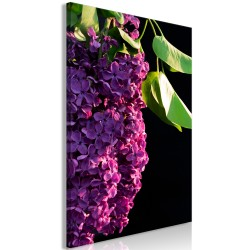 Canvas Print  Colours of Spring (1 Part) Vertical